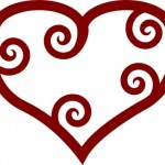 valentine_red_maori_heart_clip_art_13201
