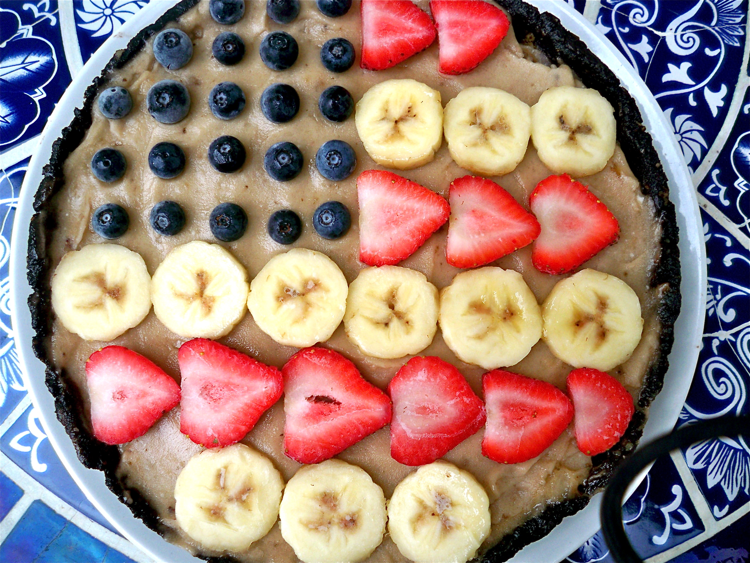 Raw Flag BananaPie