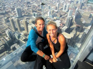 Mom and I Skydeck